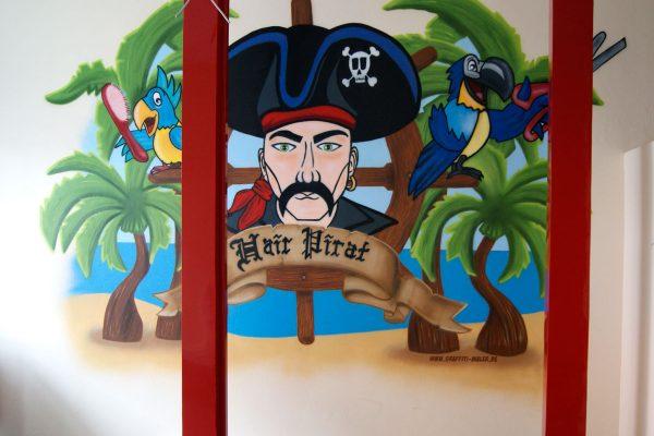 Graffiti Auftrag Hair Pirat Flensburg