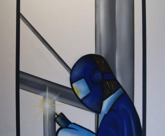 Graffiti Auftrag für HG – Lorenz Flensburg