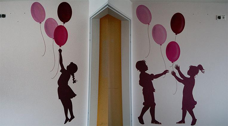 Diako Flensburg –  Kinder Krankenhaus /  Patienten Zimmer Gestaltung