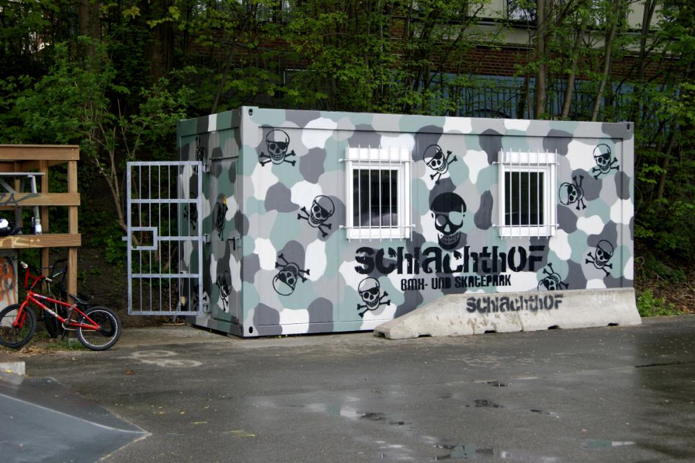 Graffiti Gestaltung – BMX und Skatepark Flensburg