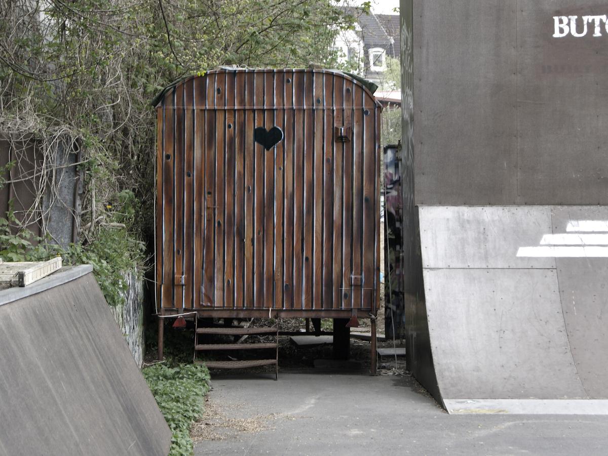 Graffiti Auftrag BMX- Skatepark Flensburg