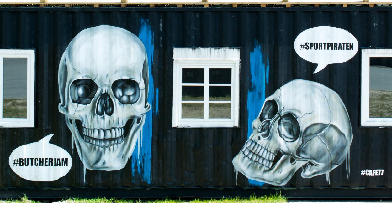 Graffiti Container Bemalung