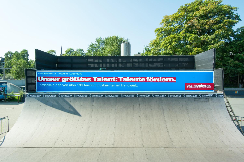 Graffiti Werbung Handwerkskammer