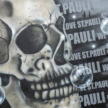 St.Pauli Leinwand