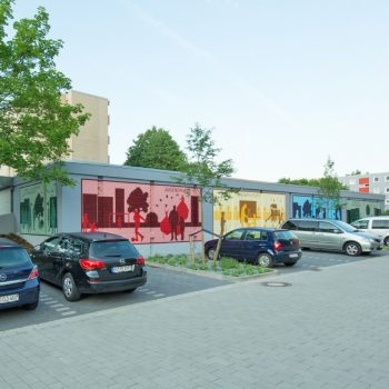 Graffiti Fassadengestaltung in Braunschweig