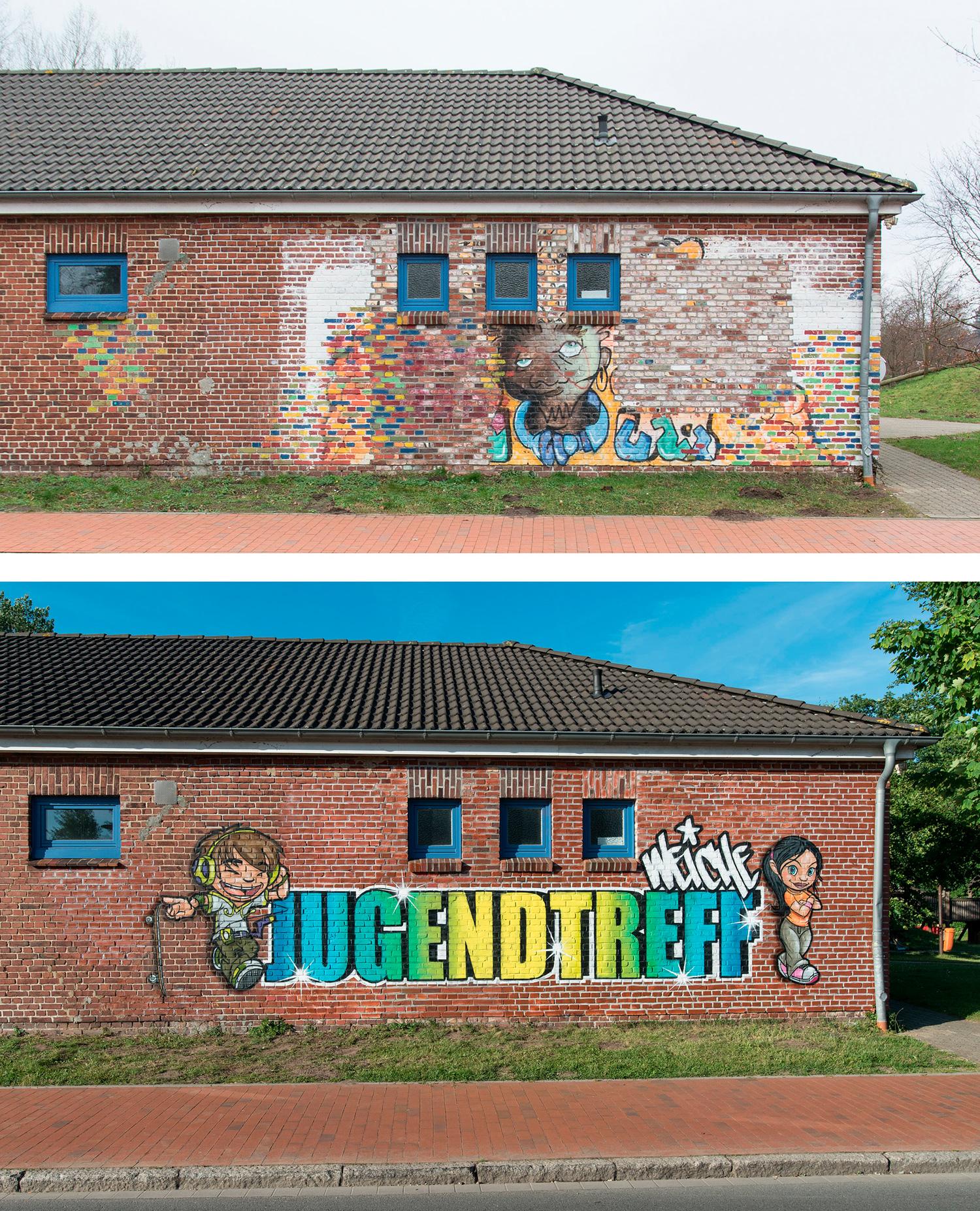 Graffiti Jugenzentrum
