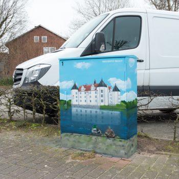 Stromkasten Graffiti Glücksburg