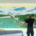 Graffiti Segelflugschule Aukrug - Neumünster