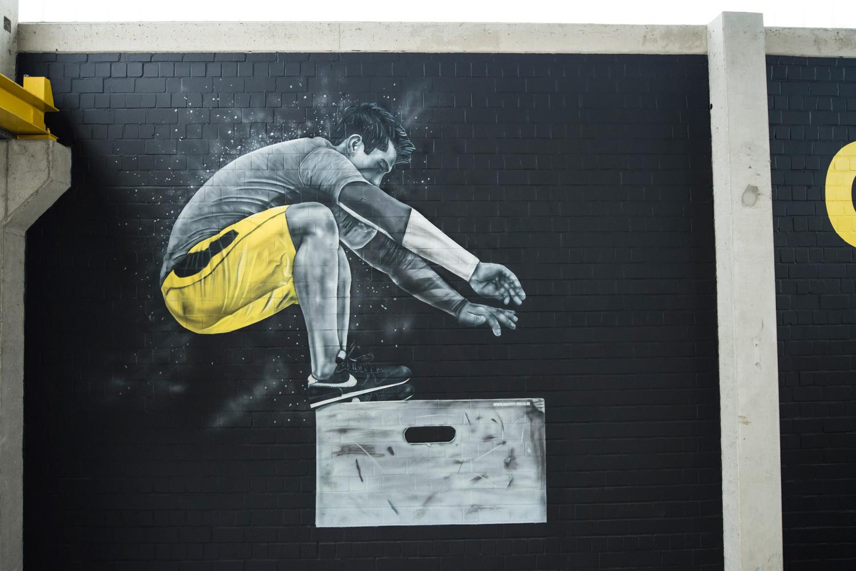 Cross Fit Graffiti