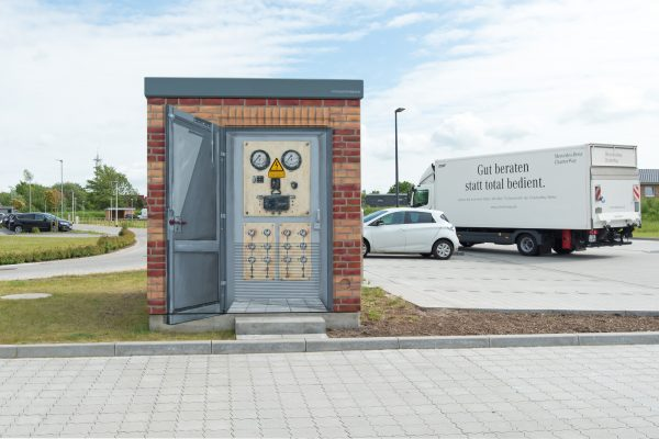 Trafostation Graffiti in Husum für EE-Planung