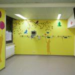 Kinder Wandgestaltung im Krankenhaus