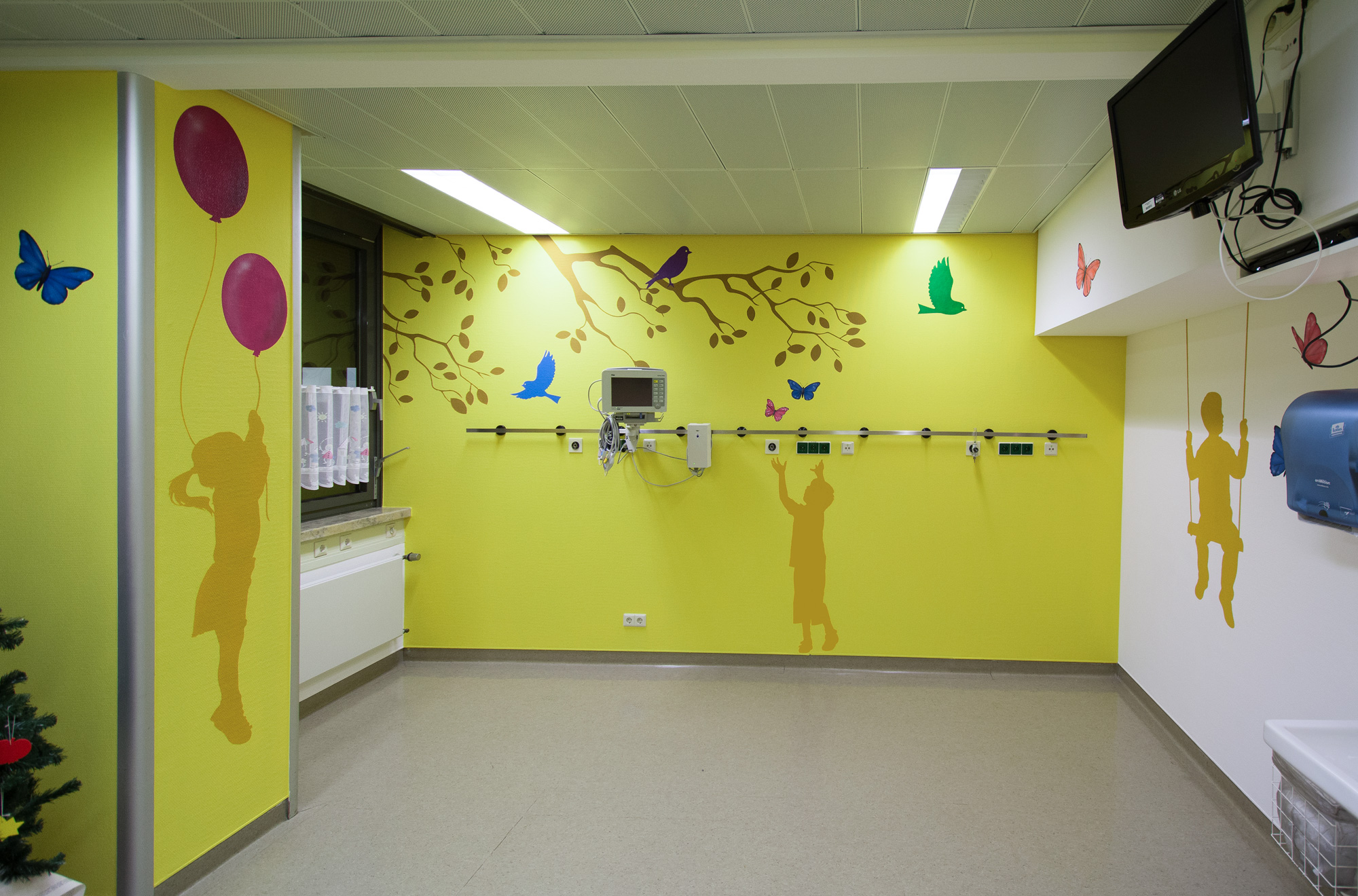 Graffiti maler wandgestaltung im krankenhaus und ihrer klinik - Wandgestaltung kinder ...