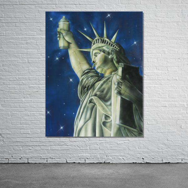 Graffiti Leinwand New York