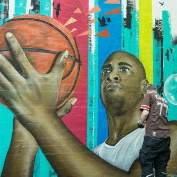 Graffiti Streetart Fassadengestaltung Hamburg