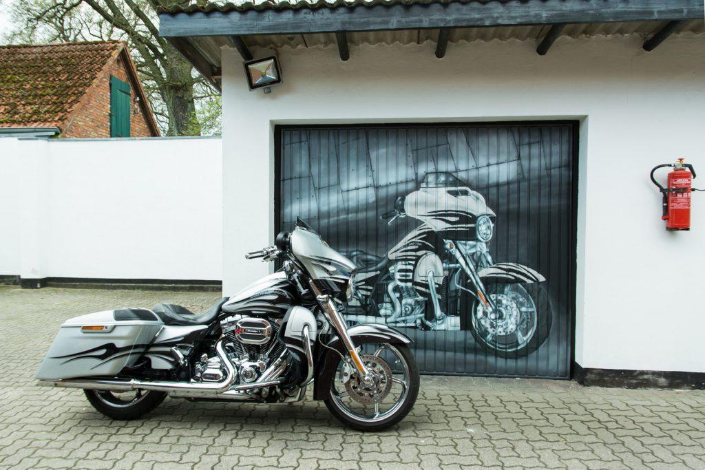 Garagentor Graffiti - Harley Davidson