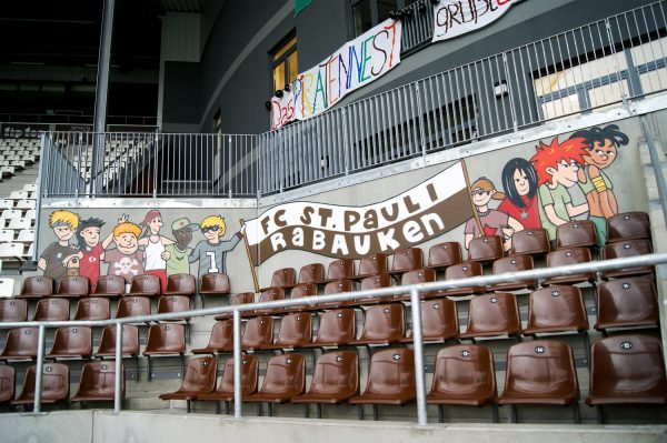 FC St. Pauli Graffiti Hamburg – Fassadengestaltung
