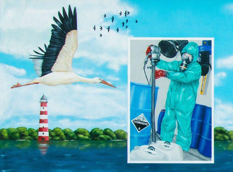Graffiti Künstler Hamburg – Fassadengestaltung für Hamburger Abfallservice