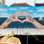 Kunst in Flensburg - Bühnenbild für Museumshafen