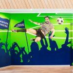 Fussball Graffiti Kappelner Werkstaetten Kappeln