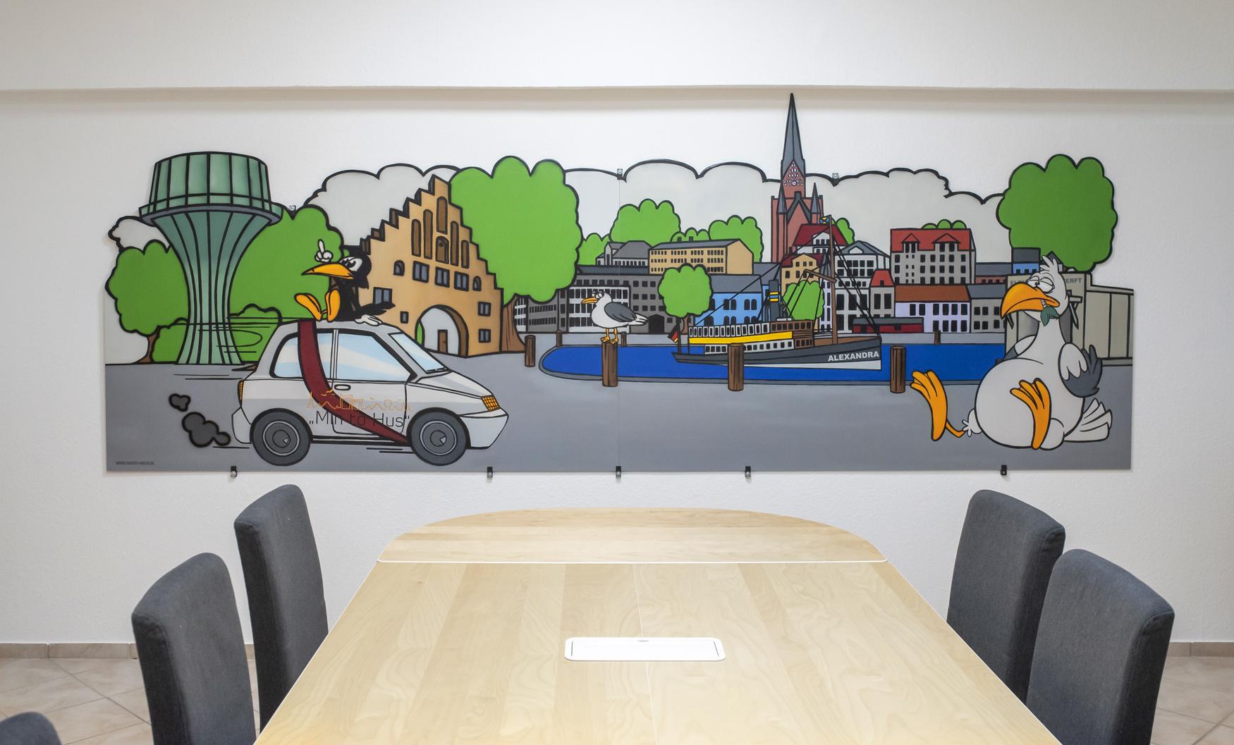 Flensburg Wandbild