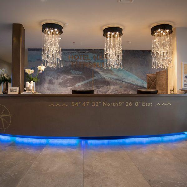 Bronze Tresen Hotel Hafen Flensburg