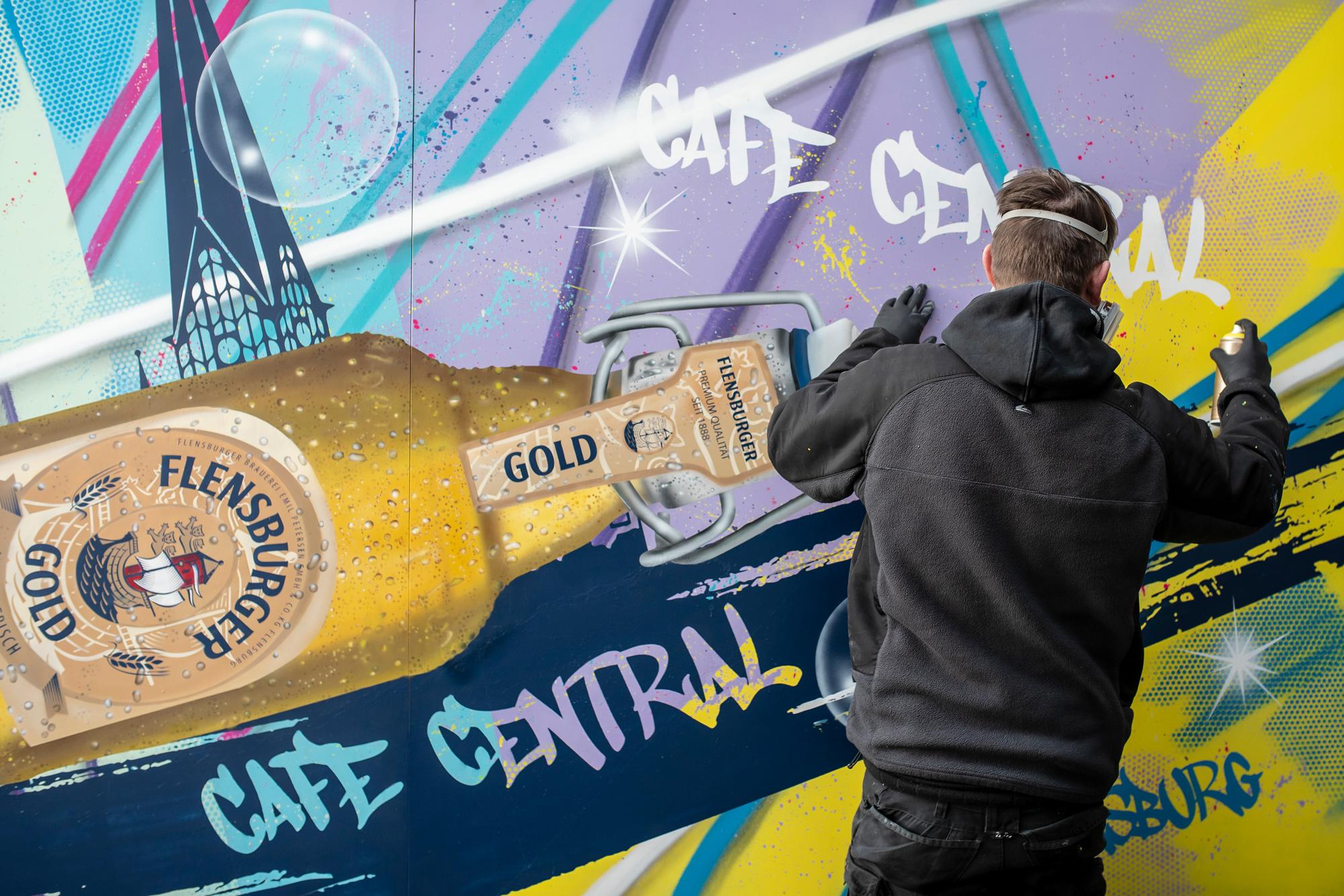 Graffiti Künstler Sylt