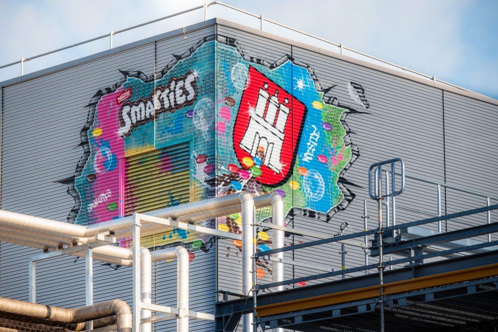 Graffiti Künstler Hamburg Fassadengestaltung