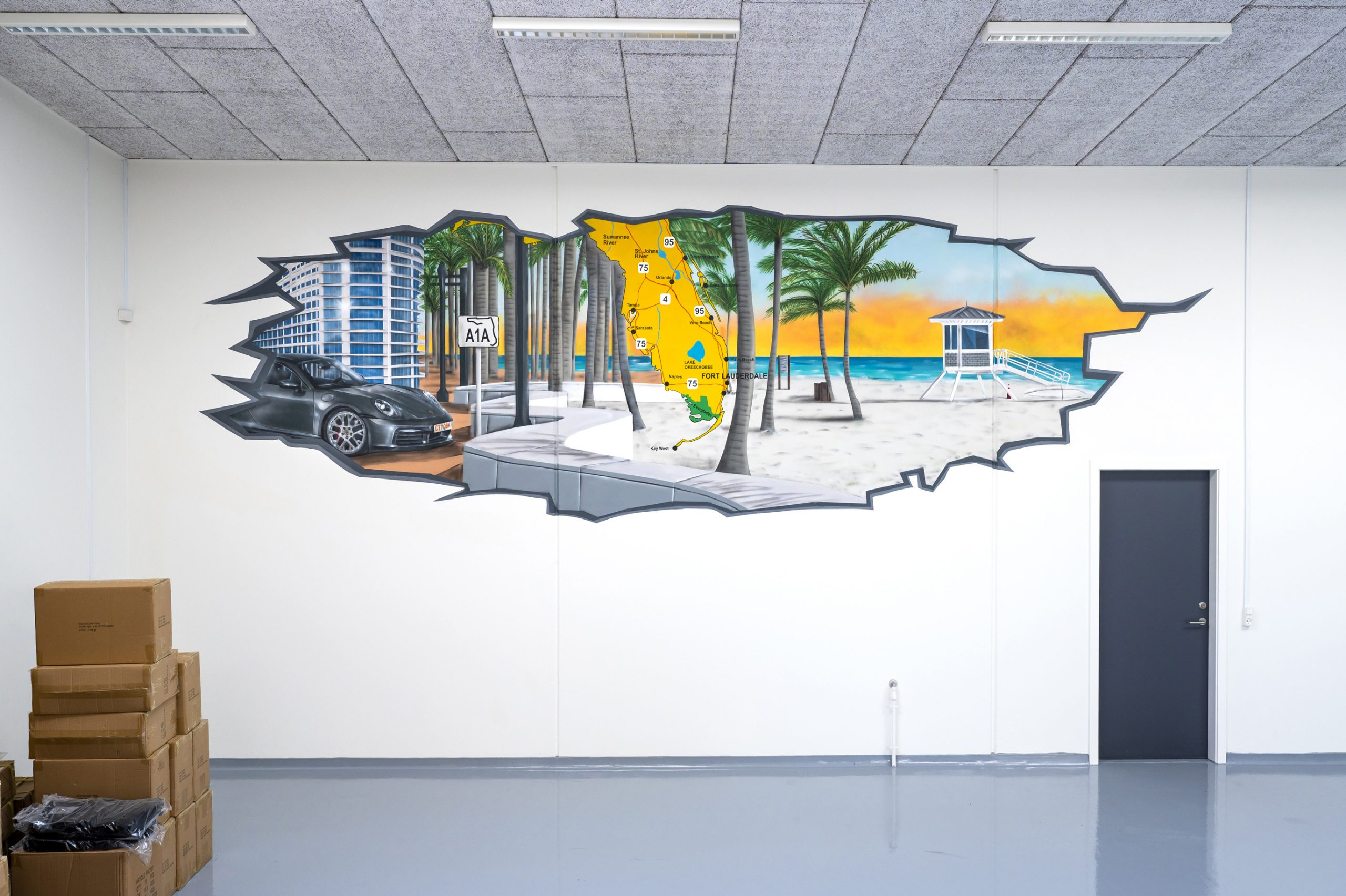 Graffiti Florida Porsche
