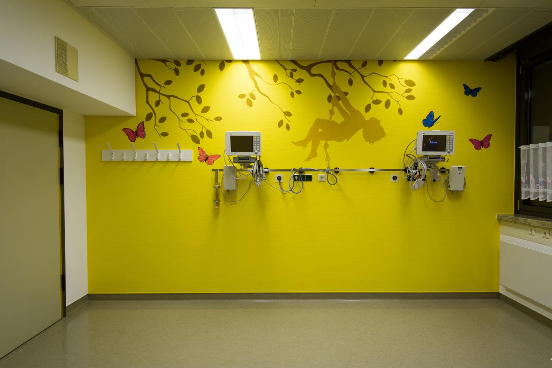 Kinder Aufwachraum Klinikum Bad Hersfeld Graffiti-Maler Sven Schmidt